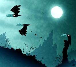 crows_blue